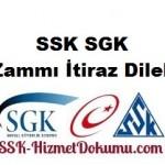 SSK SGK İntibak Zammı İtiraz Dilekçesi