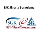 SSK Sigorta Sorgulama