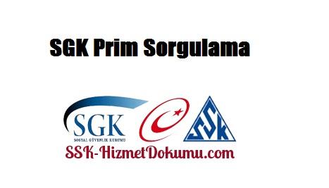 SGK Prim Sorgulama